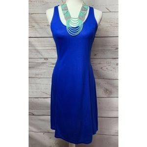 NWOT Old Navy Royal Blue Racerback Midi Dress